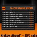 Sixt świętuje 50-lecie lotniska w Krakowie