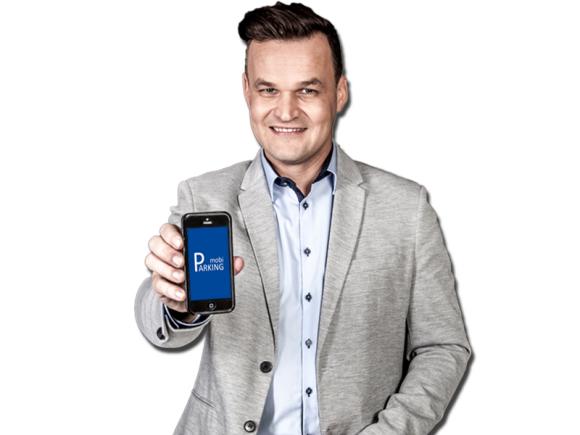 Adam Kornacki ambasadorem usługi mobiParking