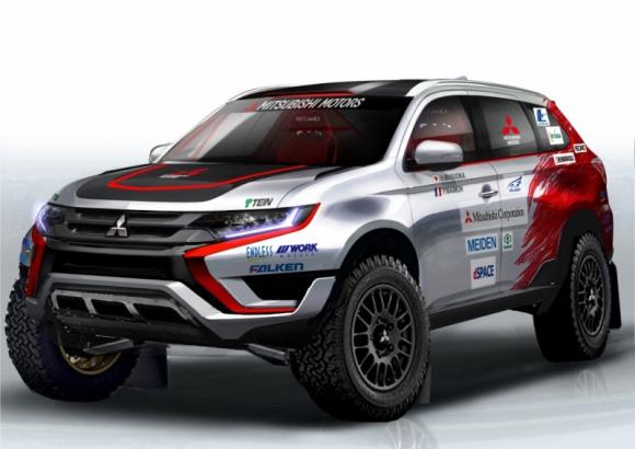 Nowe Mitsubishi Outlander PHEV wystartuje w rajdzie Baja Portalegre!