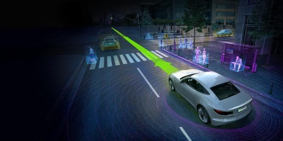 Superkomputer NVIDIA Drive PX2 mózgiem autonomicznych samochodów