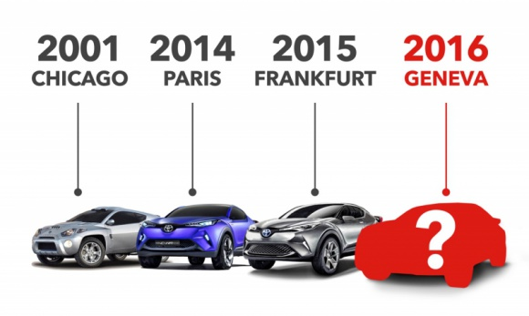 Od R-SC do C-HR – koncepcyjne crossovery Toyoty