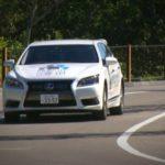 Lexus LS z systemem autonomicznego prowadzenia Urban Teammate