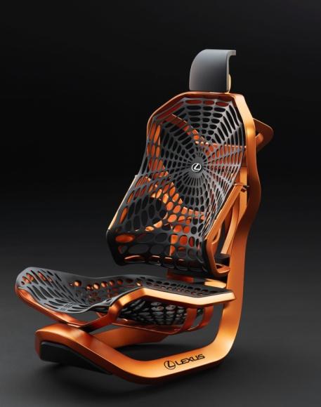 Kinetic Seat, czyli światowa premiera koncepcyjnych foteli Lexusa