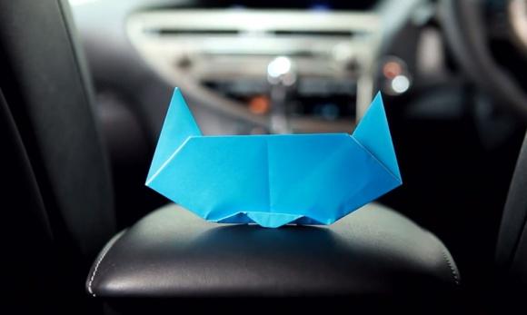Złóż kota z papieru – w 90 sekund