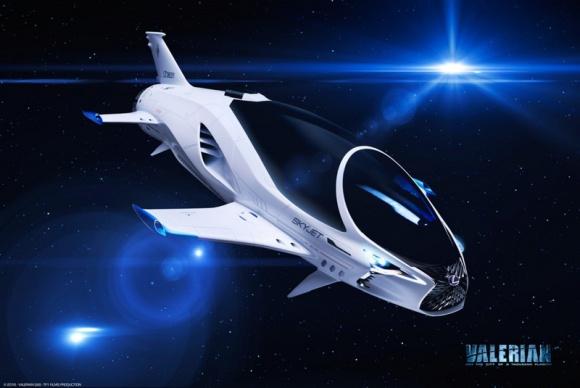 SKYJET – statek kosmiczny Lexusa w najnowszej produkcji Luca Bessona