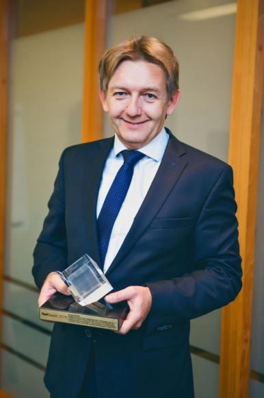 Prezydent Toyoty Jacek Pawlak otrzymał nagrodę Fleet Leader 2016