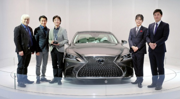 Nowy Lexus LS nagrodzony
