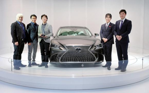 EyesOn Design 2017 dla Lexusa LS