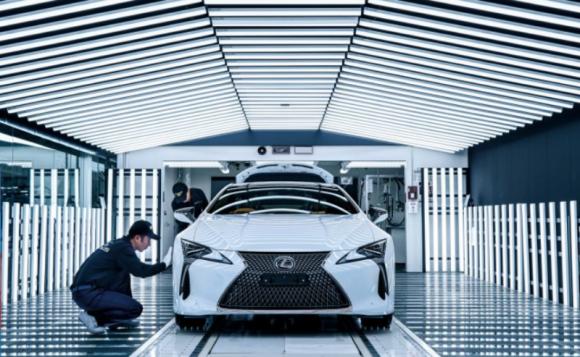 Fabryka Motomachi, dom supersamochodu LFA, produkuje Lexusa LC