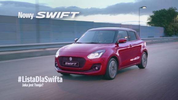 Communication Unlimited odpowiada za kampanię nowego Suzuki Swift