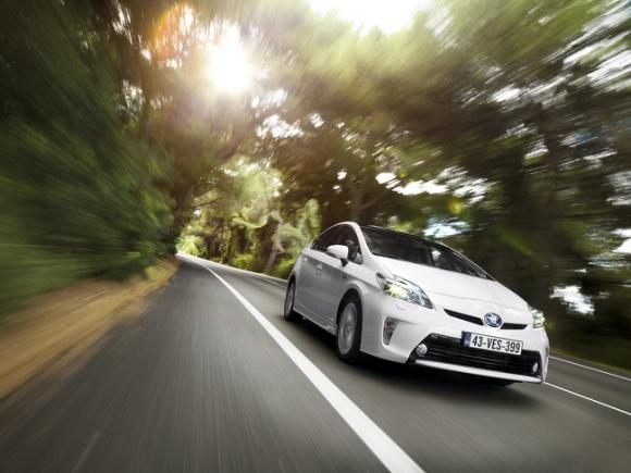 Toyota Prius najszybciej sprzedającym się samochodem używanym w Anglii