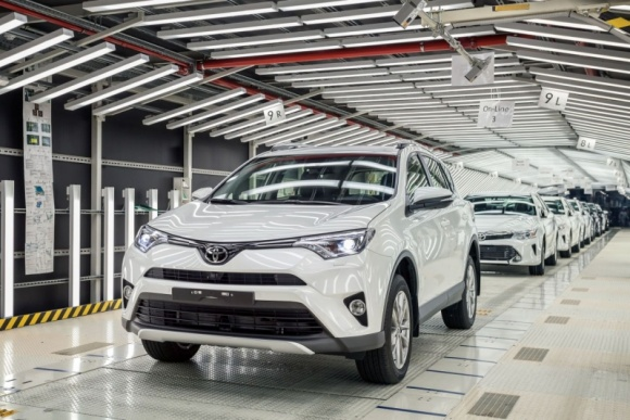 Toyota największym producentem aut na świecie
