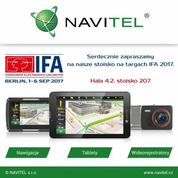NAVITEL® weźmie udział w targach IFA 2017