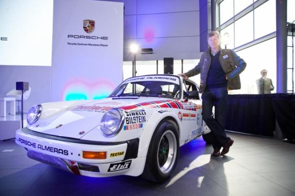 Legenda rajdów na otwarciu szóstego salonu Porsche w Polsce