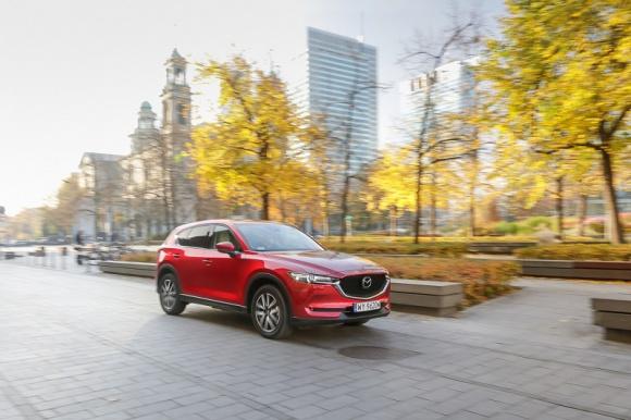 Mazda CX-5 najchętniej wybieranym modelem marki w Polsce w pierwszym półroczu 20