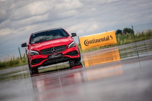 Continental partnerem cyklu szkoleń bezpiecznej jazdy Mercedes-Benz Safety Expe