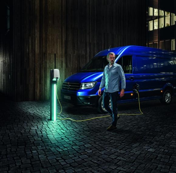 Walk z lokalną kampanią wizerunkową dla marki Volkswagen Samochody Dostawcze