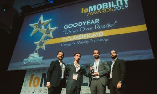 Czytnik najazdowy Goodyear Drive-Over-Reader nagrodzony za innowację