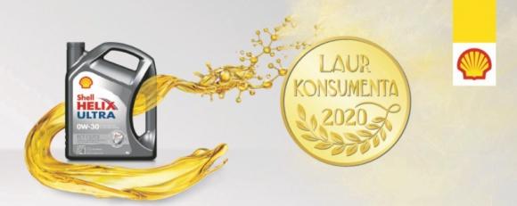 Laur Konsumenta ponownie dla Shell Helix