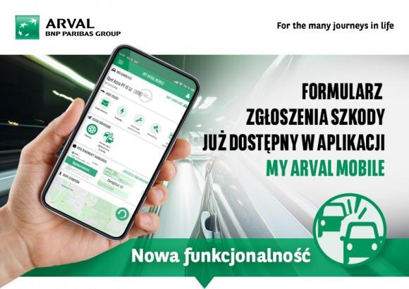 Zgłaszanie szkód przez aplikację w aplikacji Arval BIZNES, Motoryzacja - Kierowcy flotowi korzystający z samochodów dostarczonych przez Arval mogą już zgłaszać szkody przez aplikację mobilną. Dzięki aplikacji My Arval Mobile można szybciej i prościej załatwić formalności, które wcześniej wymagały wypełniania dokumentów.