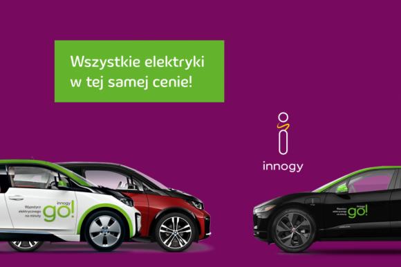 BMW i3s oraz Jaguar I-PACE w cenie BMW i3 – jesienne zmiany w innogy go!
