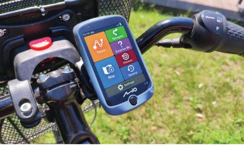 Nowa nawigacja rowerowa Mio CycloTM Discover Connect z aplikacją MioShare